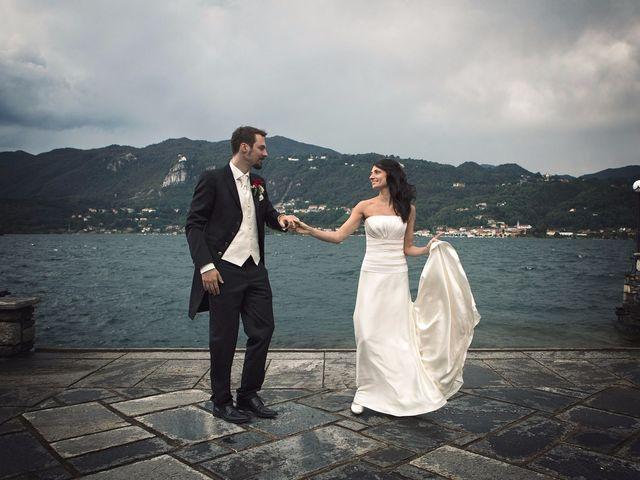 Il matrimonio di Günther e Michela a Orta San Giulio, Novara 66