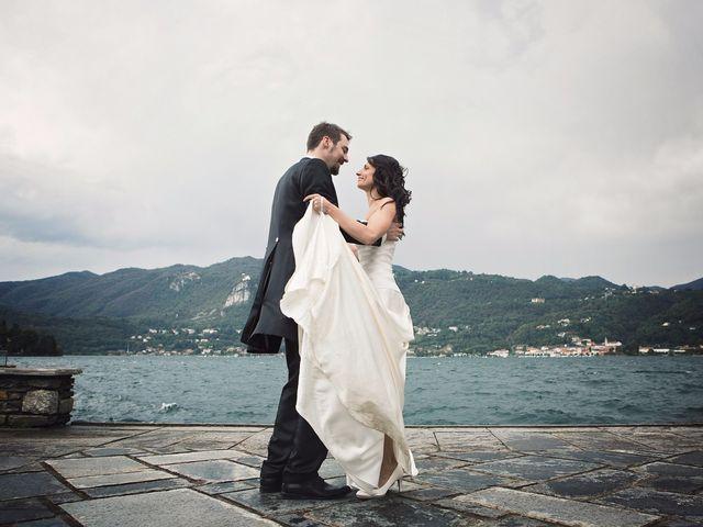 Il matrimonio di Günther e Michela a Orta San Giulio, Novara 67