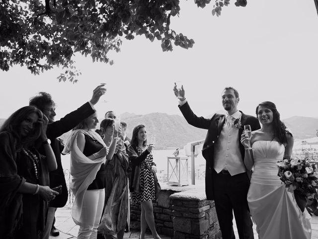 Il matrimonio di Günther e Michela a Orta San Giulio, Novara 83