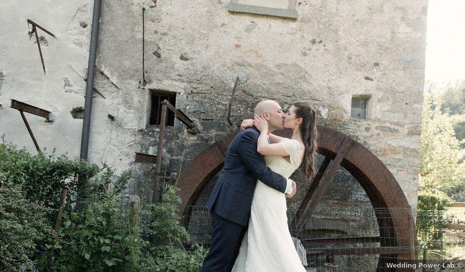 Il matrimonio di Luca e Sandra a Albiolo, Como
