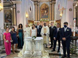 Le nozze di Sandra e Francesco 1