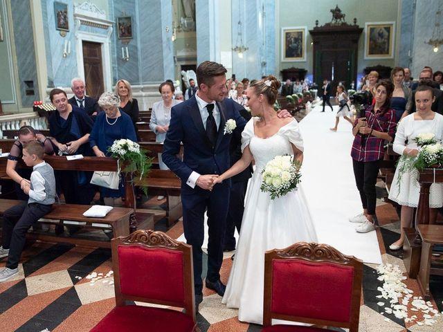 Il matrimonio di Alessandro e Silvia a Calcio, Bergamo 119