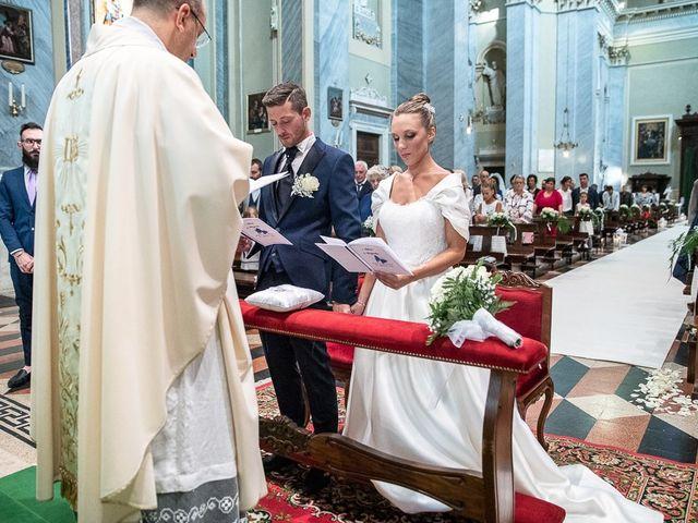 Il matrimonio di Alessandro e Silvia a Calcio, Bergamo 122