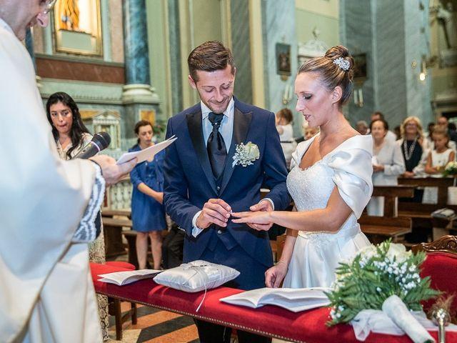 Il matrimonio di Alessandro e Silvia a Calcio, Bergamo 124