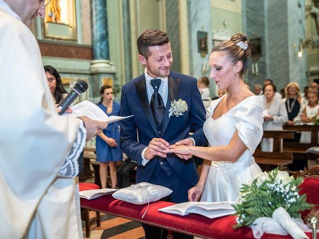 Il matrimonio di Alessandro e Silvia a Calcio, Bergamo 125