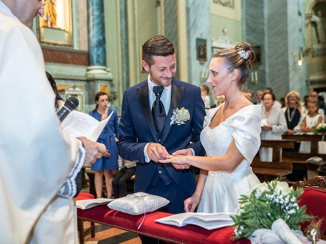 Il matrimonio di Alessandro e Silvia a Calcio, Bergamo 126