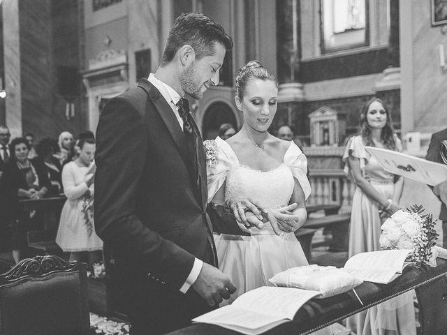 Il matrimonio di Alessandro e Silvia a Calcio, Bergamo 128