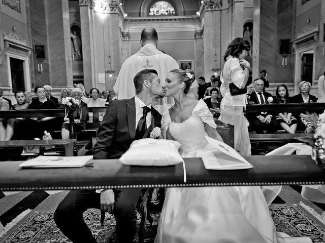 Il matrimonio di Alessandro e Silvia a Calcio, Bergamo 144