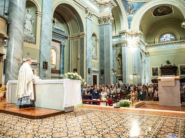 Il matrimonio di Alessandro e Silvia a Calcio, Bergamo 145