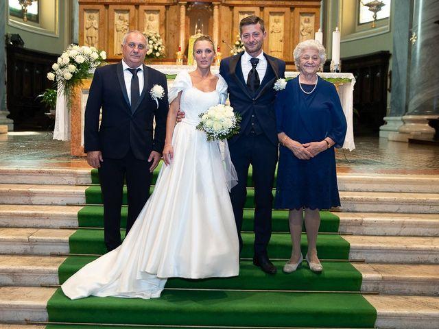 Il matrimonio di Alessandro e Silvia a Calcio, Bergamo 162