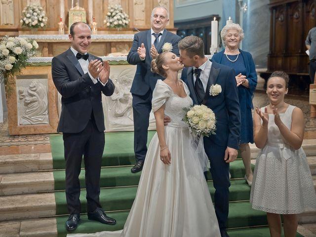 Il matrimonio di Alessandro e Silvia a Calcio, Bergamo 164