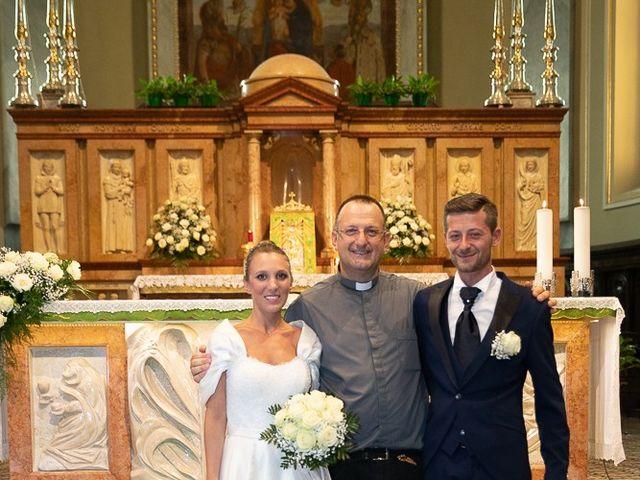 Il matrimonio di Alessandro e Silvia a Calcio, Bergamo 165