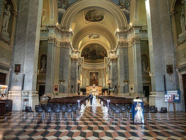 Il matrimonio di Alessandro e Silvia a Calcio, Bergamo 168