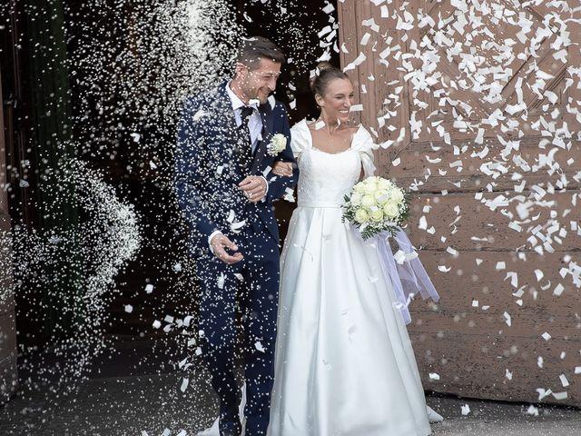 Il matrimonio di Alessandro e Silvia a Calcio, Bergamo 177