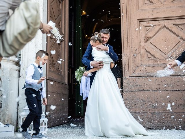 Il matrimonio di Alessandro e Silvia a Calcio, Bergamo 175