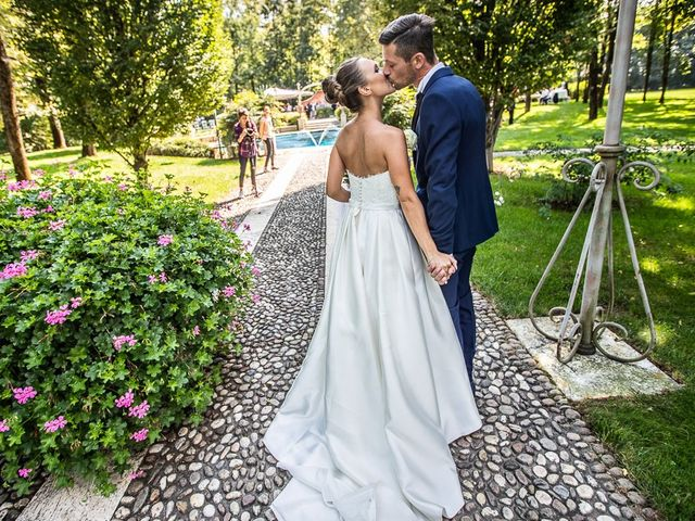 Il matrimonio di Alessandro e Silvia a Calcio, Bergamo 201