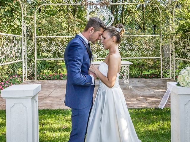 Il matrimonio di Alessandro e Silvia a Calcio, Bergamo 255