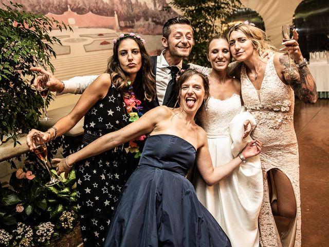 Il matrimonio di Alessandro e Silvia a Calcio, Bergamo 422