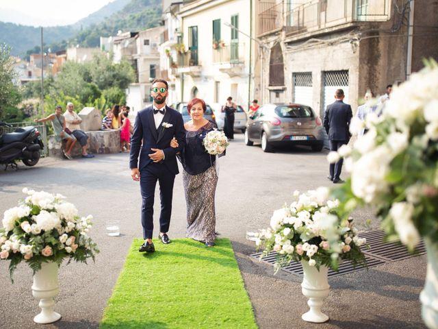 Il matrimonio di Alessandra e Davide a Pagliara, Messina 5