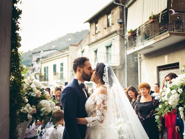 Il matrimonio di Alessandra e Davide a Pagliara, Messina 15