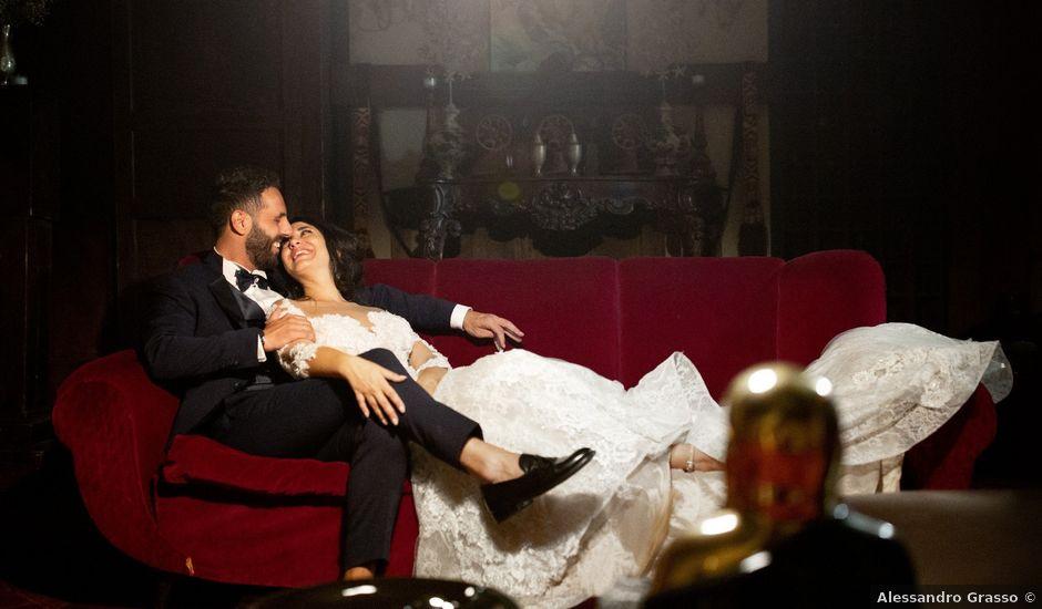 Il matrimonio di Alessandra e Davide a Pagliara, Messina
