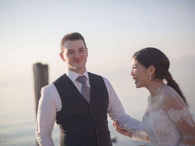 le nozze di Piyapa e Stefano