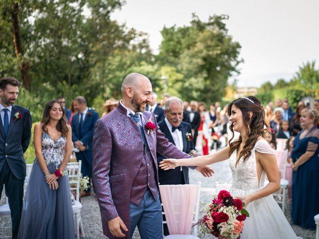 Il matrimonio di Andrea e Valentina a Filago, Bergamo 45