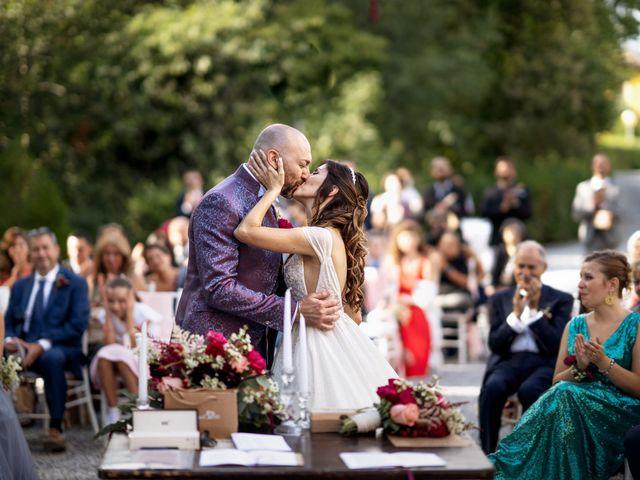 Il matrimonio di Andrea e Valentina a Filago, Bergamo 46