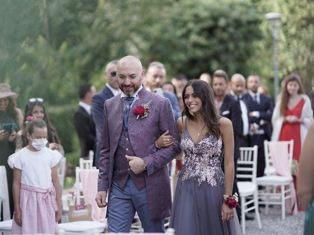 Il matrimonio di Andrea e Valentina a Filago, Bergamo 66