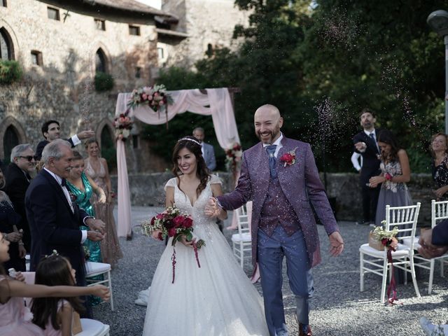Il matrimonio di Andrea e Valentina a Filago, Bergamo 84