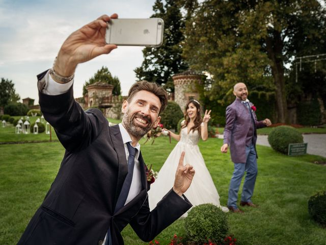 Il matrimonio di Andrea e Valentina a Filago, Bergamo 50