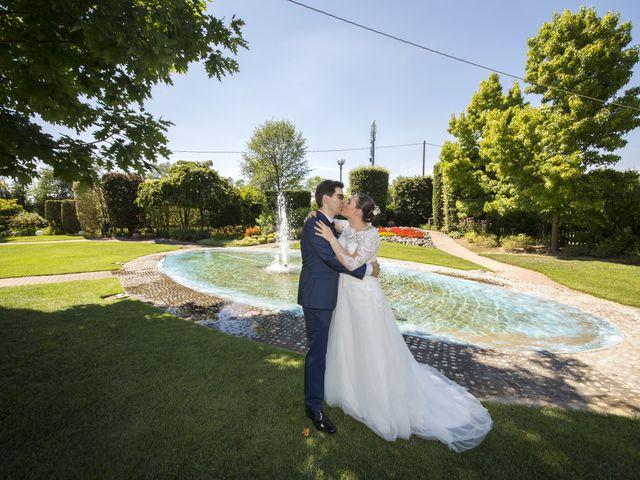Il matrimonio di Marco e Carla a Camposampiero, Padova 35