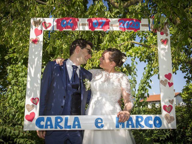 Il matrimonio di Marco e Carla a Camposampiero, Padova 43