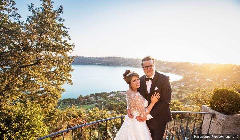 Il matrimonio di Manuela e Martin a Castel Gandolfo, Roma