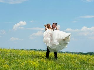 Le nozze di Noemi e Valentino