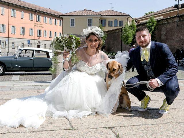 Il matrimonio di Simone e Sara a Piacenza, Piacenza 43