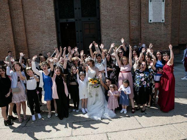 Il matrimonio di Simone e Sara a Piacenza, Piacenza 44