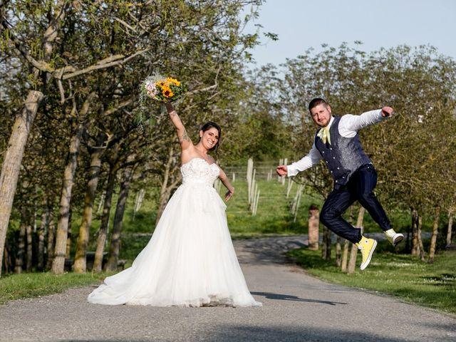 Il matrimonio di Simone e Sara a Piacenza, Piacenza 76