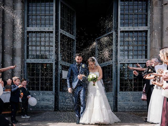 Il matrimonio di Claudio e Rebecca a Montefiascone, Viterbo 13