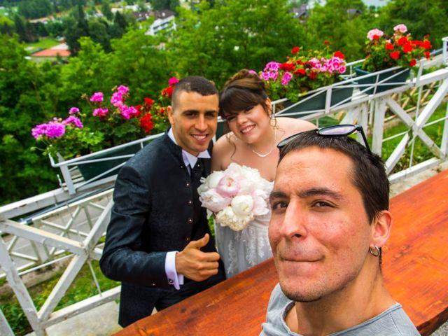 Il matrimonio di Mohamed Amine  e Susanna a Levico Terme, Trento 15