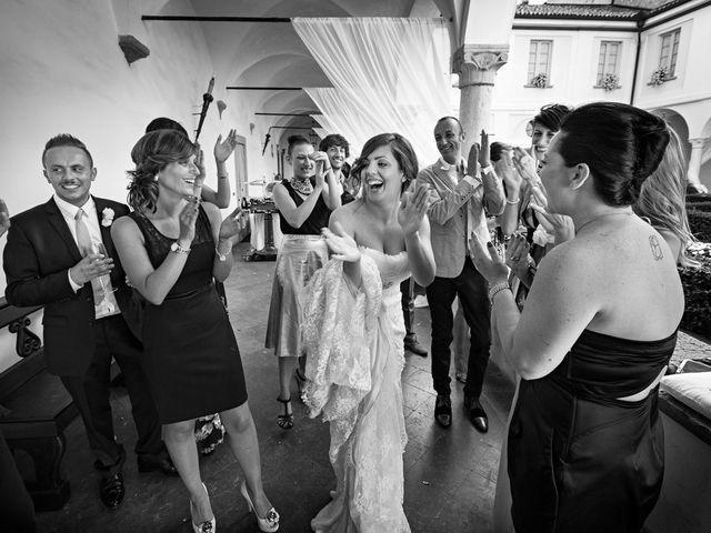 Il matrimonio di Valentina e Damiano a Carobbio degli Angeli, Bergamo 39