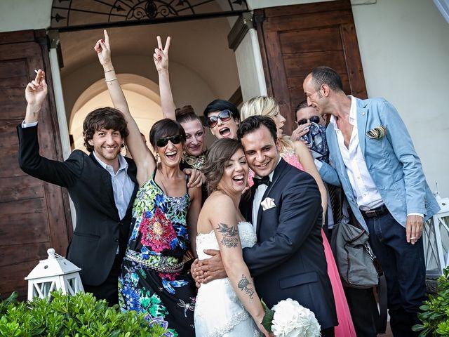 Il matrimonio di Valentina e Damiano a Carobbio degli Angeli, Bergamo 59