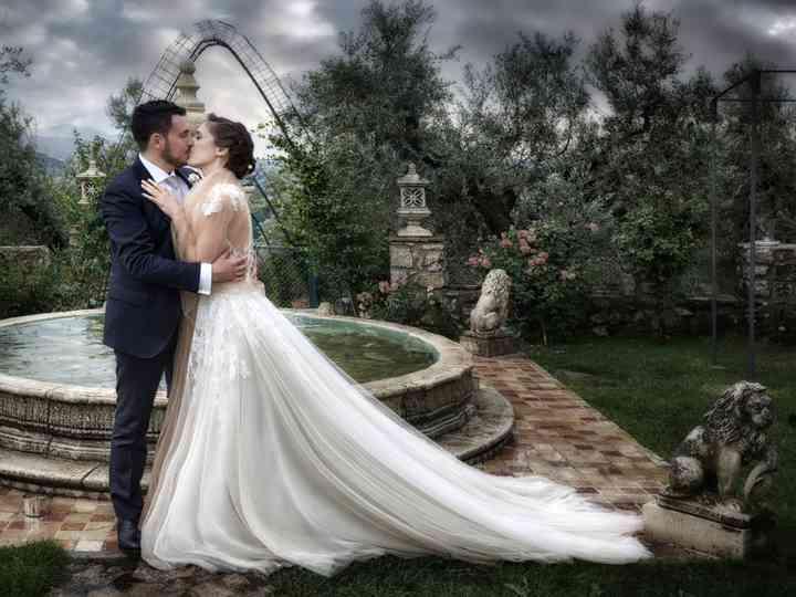 le nozze di Sofia e Leandro