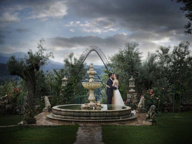 Il matrimonio di Leandro e Sofia a Monteleone Sabino, Rieti 73