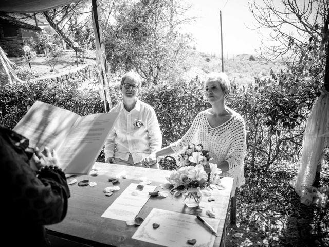 Il matrimonio di Fred e Christina a Volterra, Pisa 7