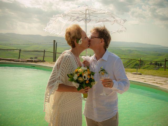 Il matrimonio di Fred e Christina a Volterra, Pisa 12