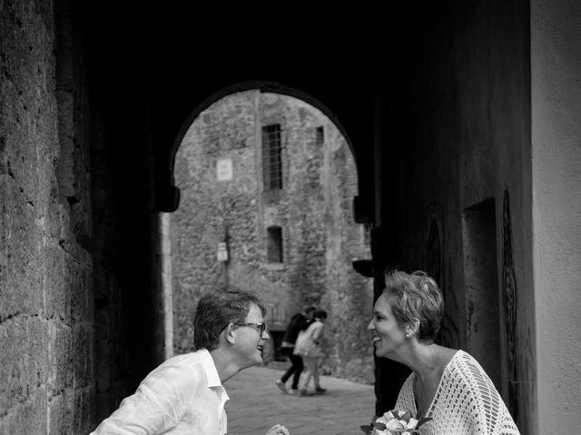 Il matrimonio di Fred e Christina a Volterra, Pisa 15
