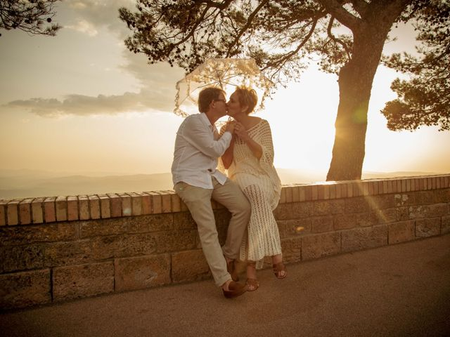 Il matrimonio di Fred e Christina a Volterra, Pisa 17