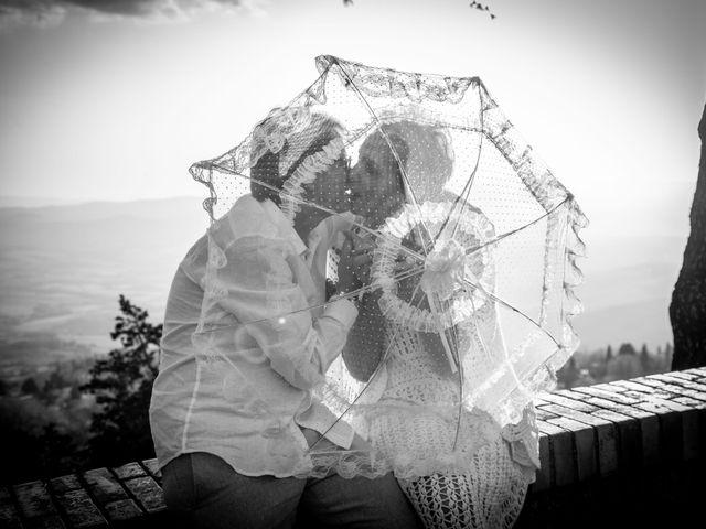 Il matrimonio di Fred e Christina a Volterra, Pisa 18