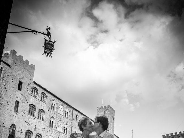 Il matrimonio di Fred e Christina a Volterra, Pisa 20